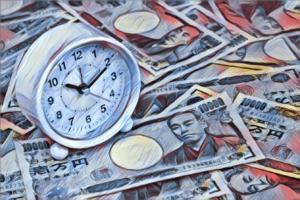 お金の時計-時間