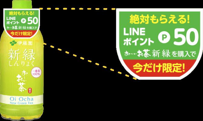 LINEポイント-飲み物キャンペーン-POP