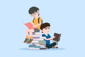 本・漫画を読む人