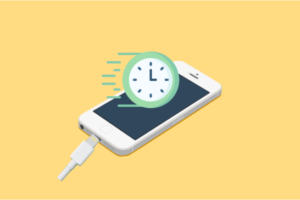 iPhoneの充電を早くする方法
