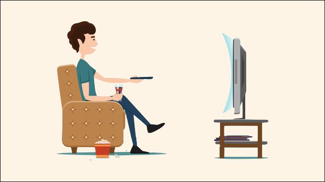テレビの適切なサイズ-距離