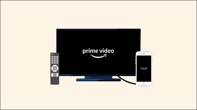iPhoneを使ってAmazonプライムビデオをテレビで見る方法