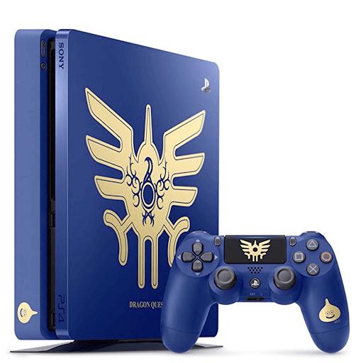 PS4-ドラゴンクエスト限定モデルのデザイン