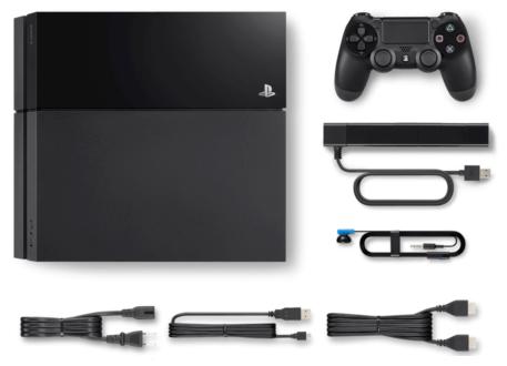 PS4本体のの付属品一覧