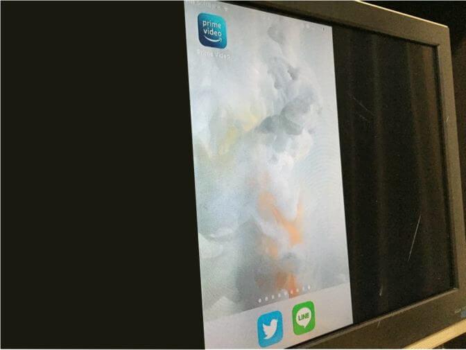 テレビにiPhoneの画面を表示