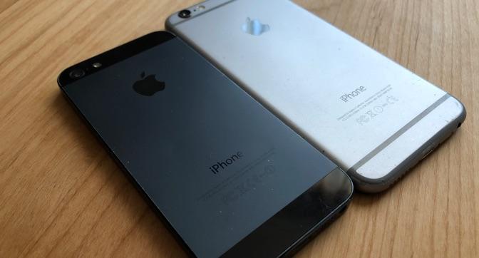 古くなったiPhoneと機種変更