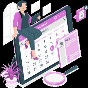 カレンダー・日時指定