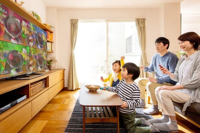 Nintendo_Switch-テレビモード