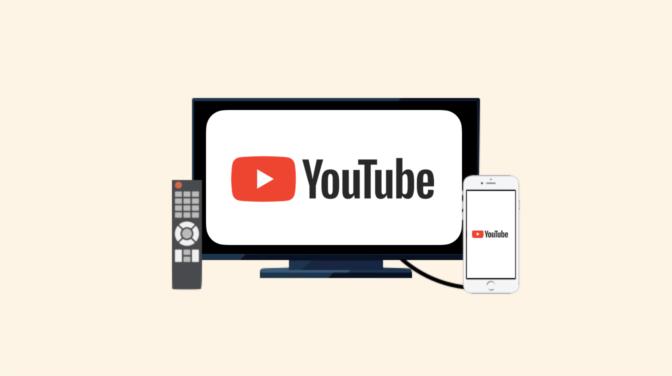 スマホとテレビを繋いでYouTubeを見る