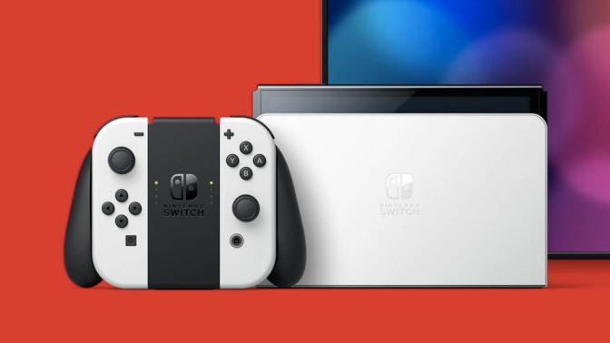 Nintendo Switch-有機ELディスプレイ