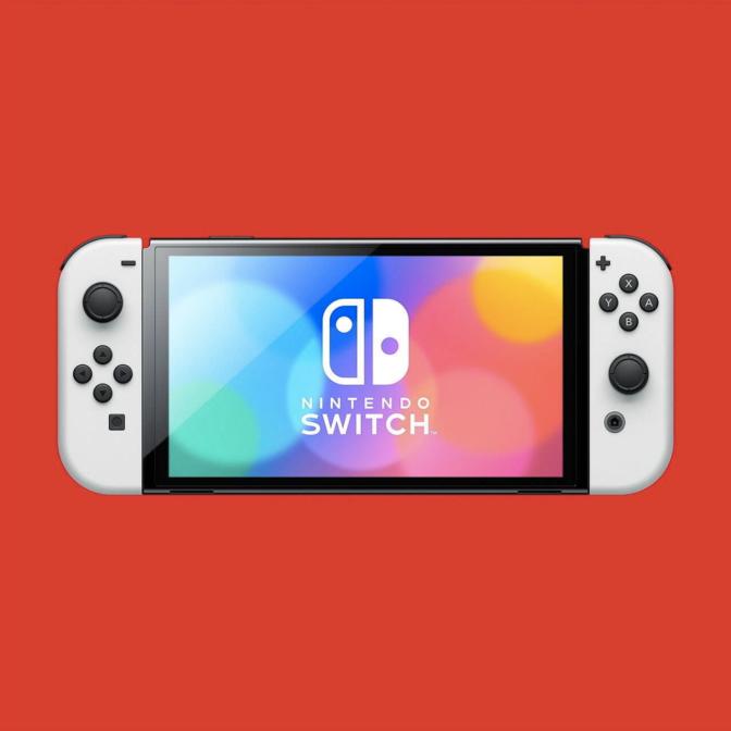 Nintendo Switch-有機ELディスプレイの画面の大きさ