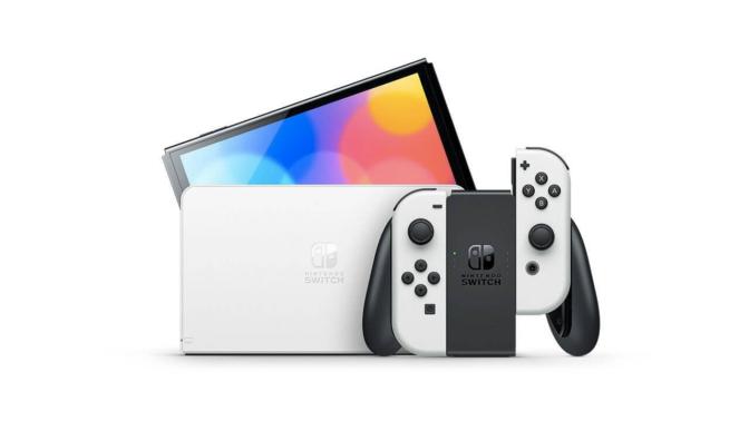 Nintendo Switch-有機ELディスプレイ-内蔵メモリー