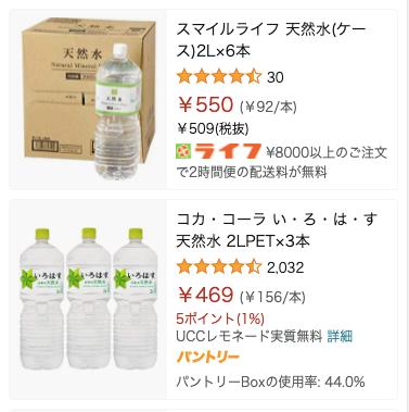 Amazon-価格で絞り込み検索