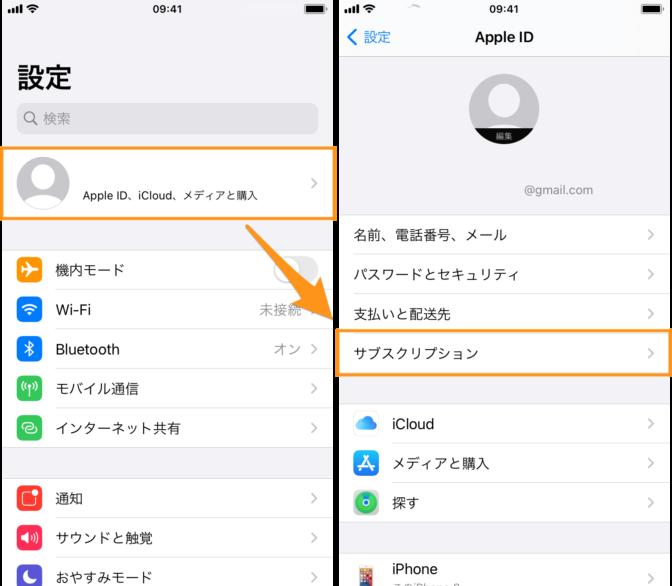 iphone-サブスクリプション